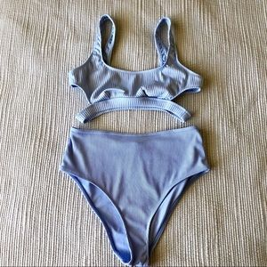 FOREVER 21 NWOT Blue/Lavender Two Piece